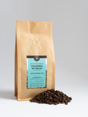 Káva bez kofeinu Colombia EP Decaf