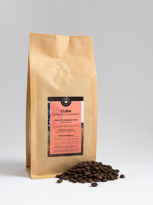káva Cuba